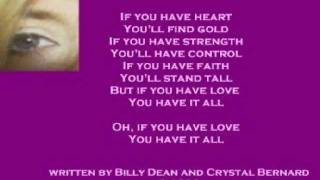 Watch Crystal Bernard If You Have Love video