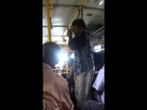 Sri Lankan Bus Entertainment video