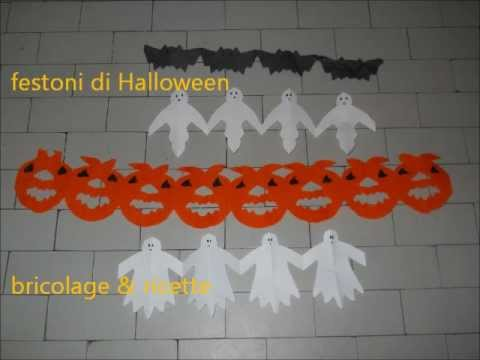 Festoni facili di halloween youtube for Decorazioni halloween da appendere