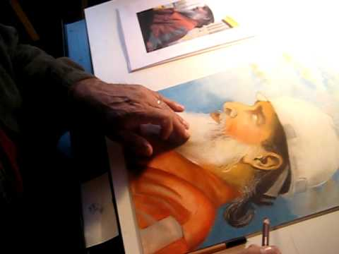 Carl Mason Painting.AVI Video