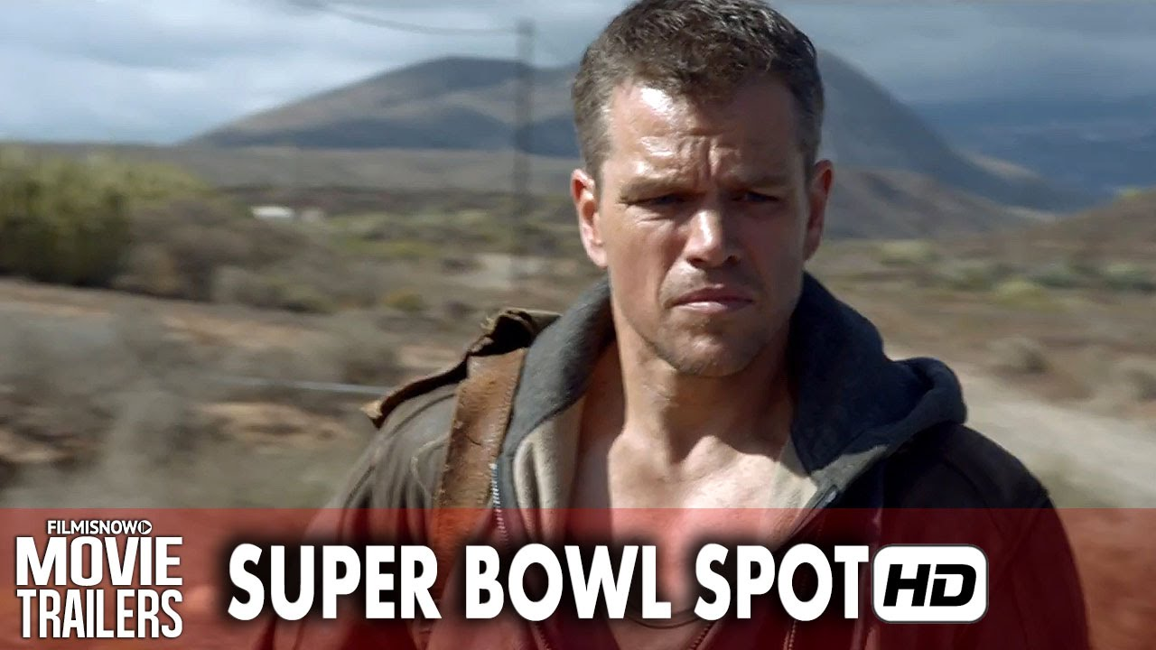 Matt Damon is JASON BOURNE - First Look Super Bowl Spot [HD]