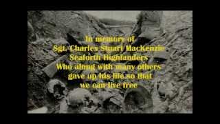 Sgt.  MacKenzie (with Lyrics)