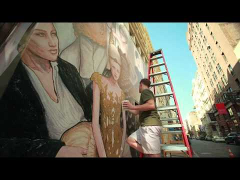 The Tiffany Soho Mural