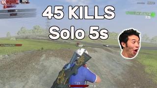 H1Z1 - 45 Kills Solo 5s