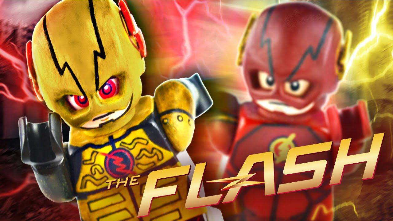 Reverse Flash no Mask Lego cw The Reverse Flash