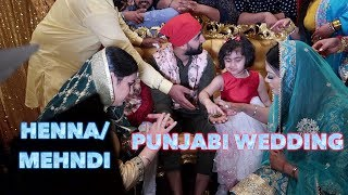 PUNJABI WEDDING DAY 1 NYC (MEHNDI AND JAGGO)