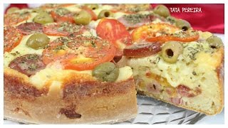 TORTA-PIZZA❤LANCHE FACIL