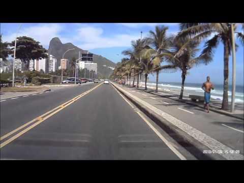 Praia de São Conrado - Rio de Janeiro - Janeiro de 2013,