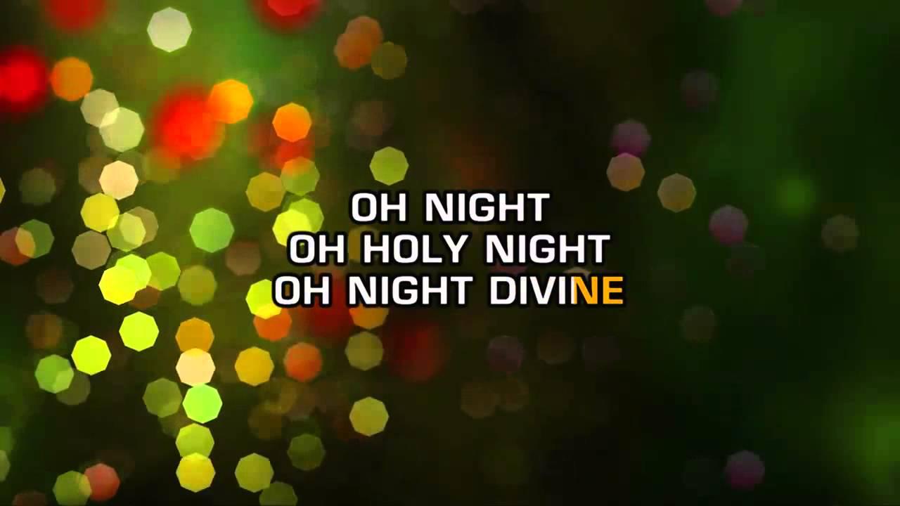 Traditional Christmas Songs - O' Holy Night (Karaoke) - YouTube