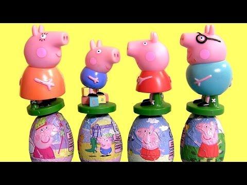 PLAY DOH Peppa Pig Stampers & Nickelodeon Princess Peppapig Easter Eggs Surprise Playdough