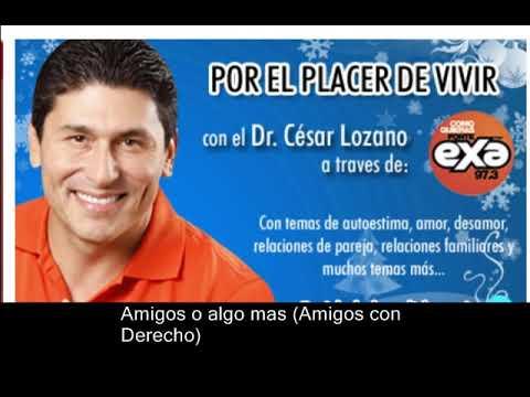 ¿Tienes Amigos con derecho? - Amigos o algo mas - Cesar Lozano