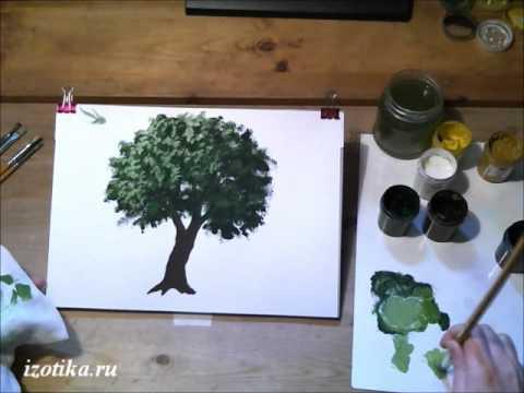 Видео как нарисовать дерево жизни