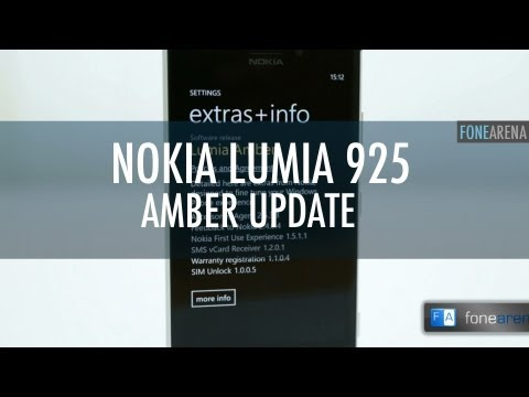 Nokia Lumia 925: What's New in the Amber Update?
