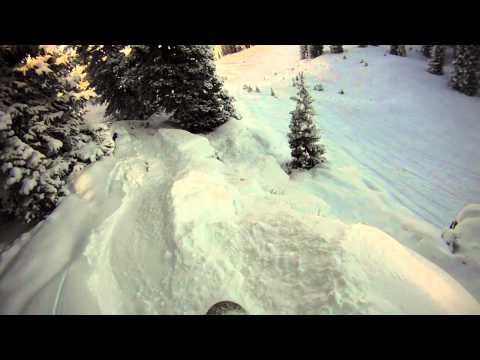 First Decent Snow in Vail 2011-2012 Season