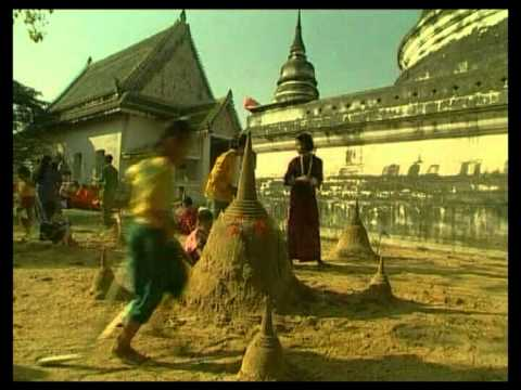 Songkran Festival in Thailand 2012
