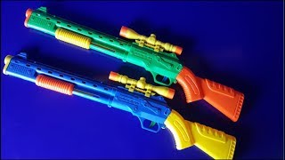 Box of Toys! I Toy Guns and Airsoft Gun models for my Weapon Toys Collection for USA