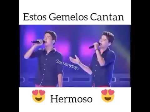 Estos gemelos cantan hermoso