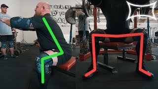 Increase Your Raw Squat With Box Squats ft. Matt Wenning