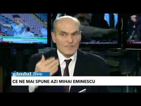 Cristian Tudor Popescu: Eminescu a fost ateu. Eminescu nu a fost roman.