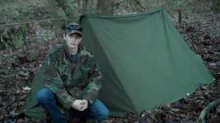 Ultimate $10 Tent: Military Shelter Halves