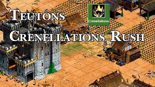 Teutons Crenellations Rush!