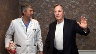 Police hunt for suspect who fatally shot cardiologist that treated Pres. GHW Bush