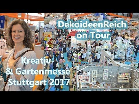 Dekoideenreich on Tour: Kreativ- & Gartenmesse Stuttgart 2017  | Bloggertreffen