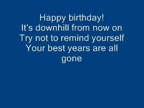 Arrogant Worms - The Happy Happy Birthday Song
