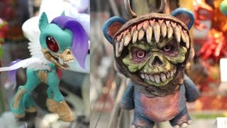 2015 NYCC New York Comic Con Art Toys Designer Toys Custom Toys Sculptures Exclusives Collection