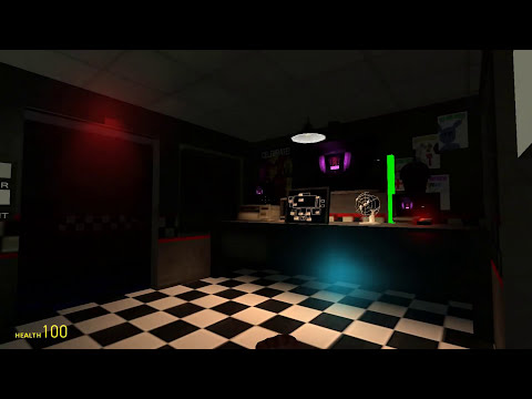 New Update!-Five Nights At Freddy's GMod Edition! (Mobile Tablet,Observant Freddy!)