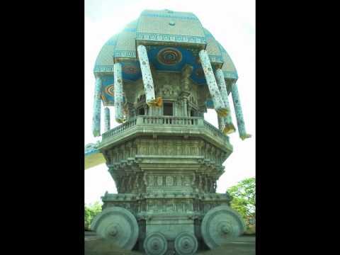 Chennai Tourist Spots Postcards - India
