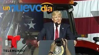 ¡Donald Trump anunció un nuevo plan de inmigración! | Un Nuevo Día | Telemundo
