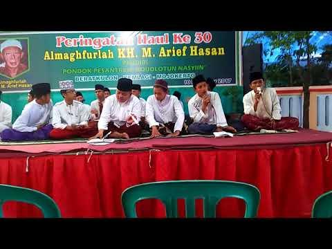 Ronas Bersholawat - Haul KH.M.Arief Hasan ke 30