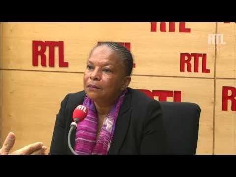 Christiane Taubira ne compte pas changer de cap en matière d'antiterrorisme