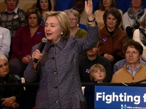 """Clinton: 2017 GOP Pres. """"Would be Terrifying"""""""