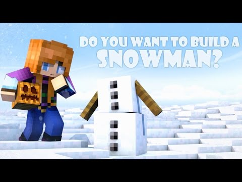 Do You Want To Build A Snowman? (minecraft Animation) video