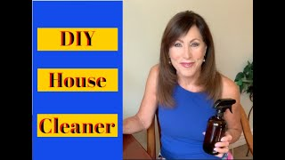 DIY House Cleaner with Essential Oils