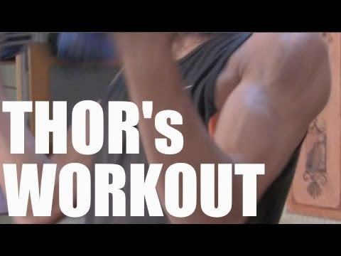 THOR UPPER BODY TEEN MUSCLE WORKOUT