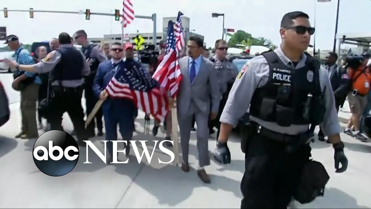 Counterprotesters overwhelm 'Unite the Right' rally