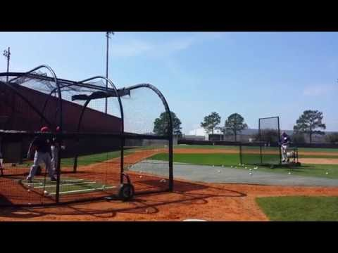 Houston Astros Batting practice 2014
