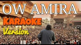 Nepali Karaoke Song - OW AMIRA (Track)   Deepak Bajracharya