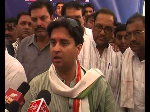 Jyotiraditya Scindia pitches for Rahul Gandhi as Prime Minister in 2014