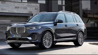 2019 BMW X7 - ALL NEW 7 SEAT SUV FROM BMW - Interior Exterior Review