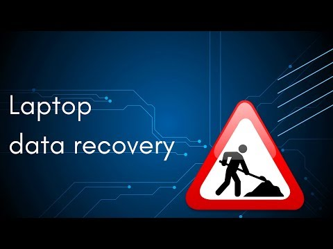 Laptop hard drive recovery
