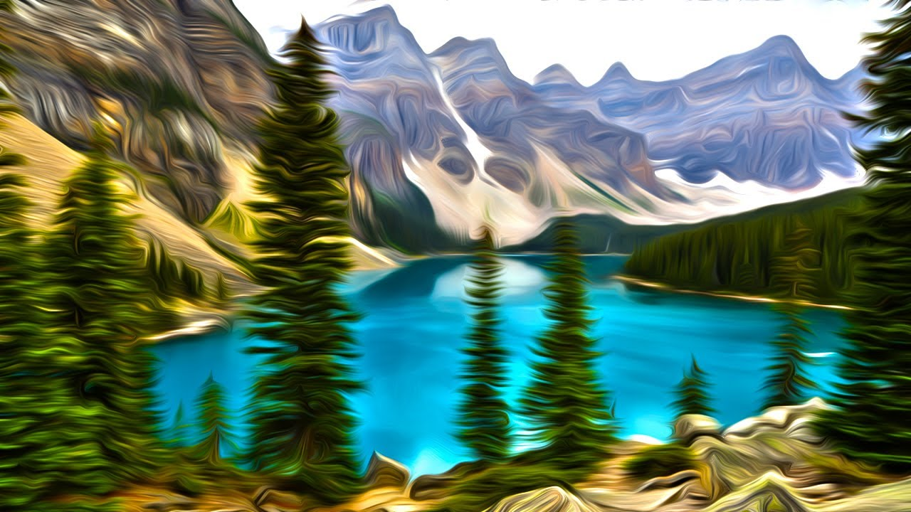 Oil Effect in Photoshop Oil Painting Effect With