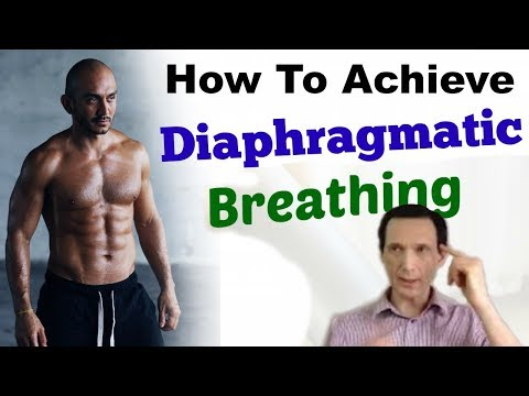 How to Achieve Automatic Diaphragmatic Breathing 24/7 Day-Night: Prevent Chest/Thoracic Respiration
