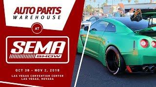 Auto Parts Warehouse goes to SEMA 2018   Day 1