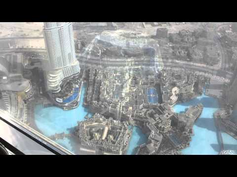 Inside The Burj Khalifa - United Arab Emirates!!!