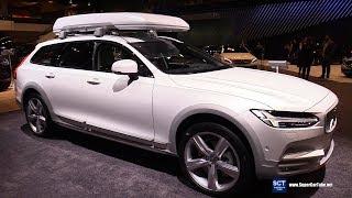 2018 Volvo V90 Cross Country - Exterior and Interior Walkaround - 2018 Chicago Auto Show