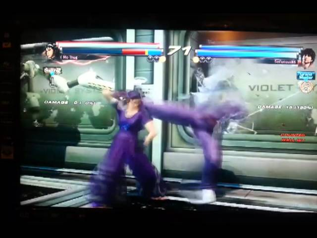 Jun Kazama Reversal Counter Tag Secret move